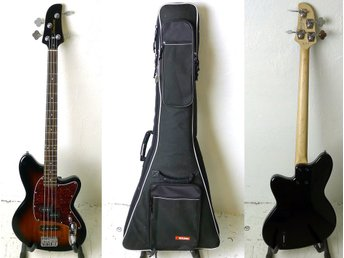 ELBAS, Ibanez, TMB100, 1P-01, snr: I 150612924, Made In Indonesia, softcase.
