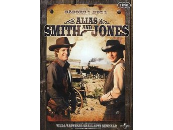 Alias Smith & Jones / Säsong 1 Box 1 (3 DVD)