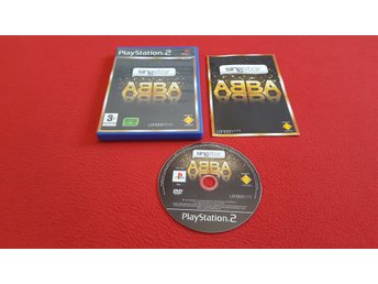 SINGSTAR ABBA till Sony Playstation 2 PS2