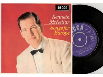 Eurovision 1966 UK: Kenneth McKellar – A Man Without Love – Vinyl EP 45