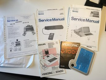 Philips videopac service manualer