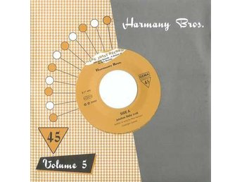 "Harmany Bros - Jukebox Baby / Jukebox Jessie - 7"" NY"