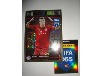 Panini Adrenalyn XL FIFA 365 - Limited Edition XXL - ROBERT LEWANDOWSKI - Bayern