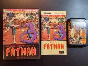 Fatman / Slaughter Sport - Fighting - CIB - Japansk