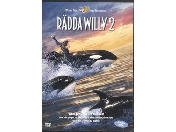 Free Willy 2: The Adventure Home - 1995 - OOP - DVD - Bålsta - Free Willy 2: The Adventure Home - 1995 - OOP - DVD - Bålsta