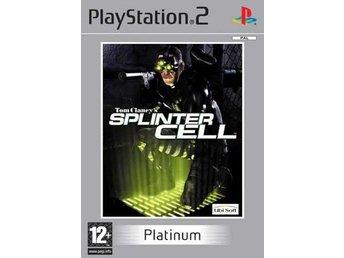 Tom Clancys Splinter Cell - Platinum - Playstation 2 - Varberg - Tom Clancys Splinter Cell - Platinum - Playstation 2 - Varberg