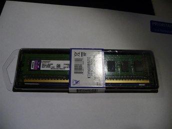 KINGSTON 2GB DDR3 (1x2GB) PC3-10600 1333Mhz - till STATIONÄR - Göteborg - KINGSTON 2GB DDR3 (1x2GB) PC3-10600 1333Mhz - till STATIONÄR - Göteborg