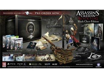 Assassins Creed 4 Black Flag Black Chest Collectors Edition PS4 spel NYTT - Nynäshamn - Assassins Creed 4 Black Flag Black Chest Collectors Edition PS4 spel NYTT - Nynäshamn