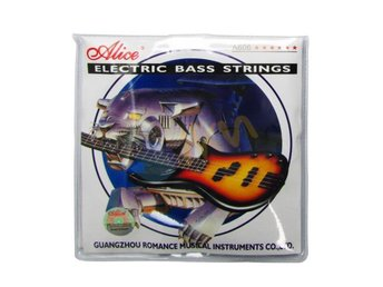 OUTLET - Alice strings till EL -Bass gitarr  A606