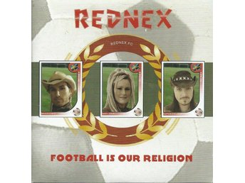 REDNEX - FOOTBALL IS OUR RELIGION    ( CD MAXI/SINGLE )