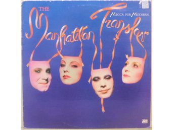 The Manhattan Transfer-Mecca for moderns / LP