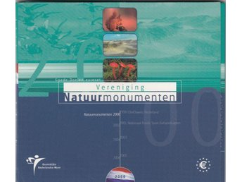 Netherlands euro coinset 2000 .