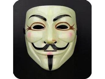 Guy Fawkes / Vendetta / Anonymous Mask - Nybro - Guy Fawkes / Vendetta / Anonymous Mask - Nybro