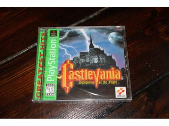 PS1 - Castlevania SOTN (Greatest Hits) (NTSC) /NYTT