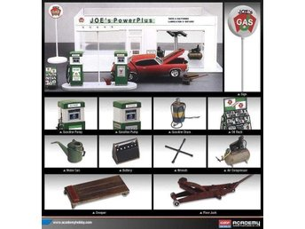 Academy 1/24 Joe's Power Plus Station - Kil - Academy 1/24 Joe's Power Plus Station - Kil