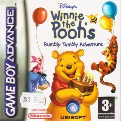 GBA - Nalle Puh: Rumbly Tumbly Adventure (Komplett) (Beg)
