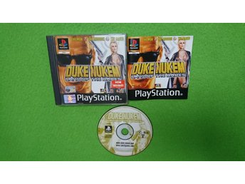 Duke Nukem Land of the Babes KOMPLETT Playstation 1 PSone ps1