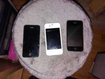 3 st iPhone reservdels mobiler.