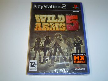 Wild Arms 5 Sony Playstation 2 PS2 PAL *NYTT*