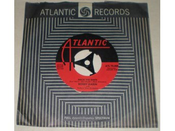 Bobby Darin 45a Mack the knife 1959 VG++