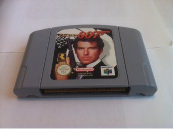 N64: Golden Eye/Goldeneye 007 James Bond (Enbart kassett)