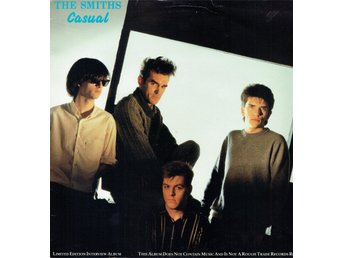 THE SMITHS - CASUAL (INTERVIEW, LTD EDT, BLUE VINYL) LP