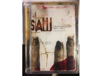 SAW. Collector's Edition: SAW 1 + SAW 2 (Exclusive 2-disc BLOODBAG EDITION)
