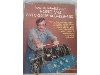 Handbok Ford V8 rebuild HP books 1980
