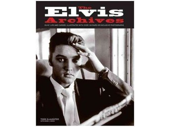 ELVIS PRESLEY   BOK   THE ELVIS ARCHIVES