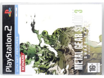 Metal Gear Solid 3: Snake Eater - PS2 - PAL (EU)