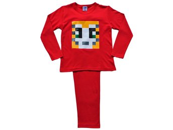 Boys Girls StampyLongNose Pixel Mr Stampy Long Pyjamas