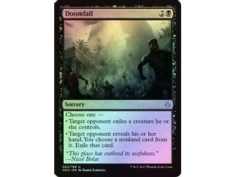 MtG Foil Doomfall, Hour of Devastation