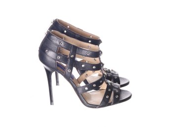 Jimmy Choo for H&M, Klackskor, Strl: 38, Svart