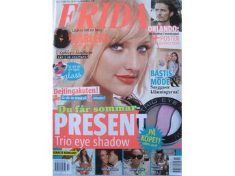 FRIDA nr 14 2006    *Orlando Bloom, Ashlee Simpson, Lindsay Lohan mfl