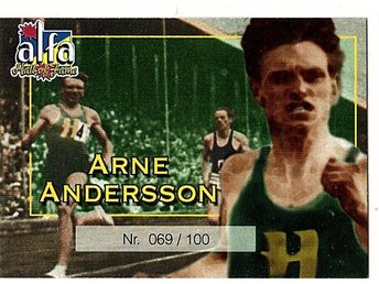 Alfa Hall of Fame Arne Andersson 069/100