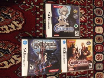 Castlevania: Dawn of Sorrow + Castlevania: Order of Ecclesia + portrait of ruin