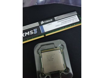 Intel Core i5-750 2.66 GHz + ?XMS3 1600hz 2GB 9-9-9-9-24