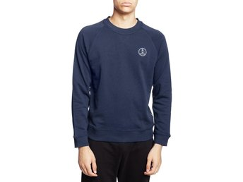 Resteröds Original Sweatshirt Embroidery Navy Medium