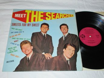 THE SEARCHERS UK LP MEET THE SEARCHERS!