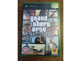 GTA Grand Theft Auto San Andreas - XBOX