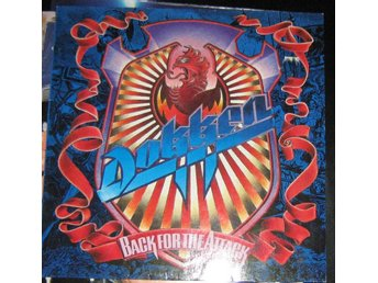 "dokken LP ""Back for the atack""US elektra VG+ original inner"