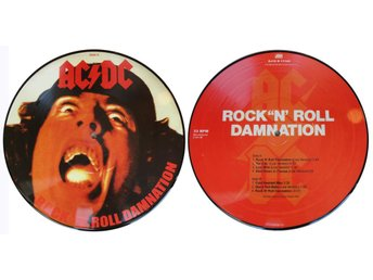 "AC/DC 'Rock'N'Roll Damnation' 10"" picture-disc vinyl EP"