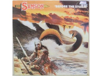 Samson-Before the storm / LP (Polydor - 2383 654)
