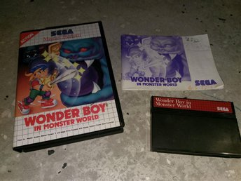 Wonder Boy in Monster World !!! - Sega Master System