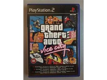 GTA Vice city, fint skick! PS2 Playstation 2 Play station Grand theft auto - Ekerö - GTA Vice city, fint skick! PS2 Playstation 2 Play station Grand theft auto - Ekerö