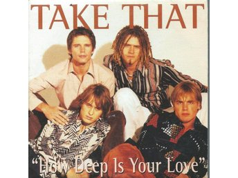 TAKE THAT -HOW DEEP IS YOUR LOVE  (CD MAXI/SINGLE )