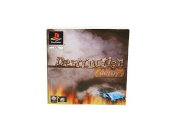 Destruction Derby (Manual PS1)
