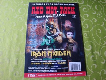 RED HOT ROCK 2003-03 IRON MAIDEN BRUCE