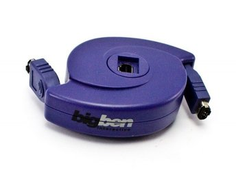 Game Boy Advance Roller Link Cable (2-3 player) (BigBen) (Blue)