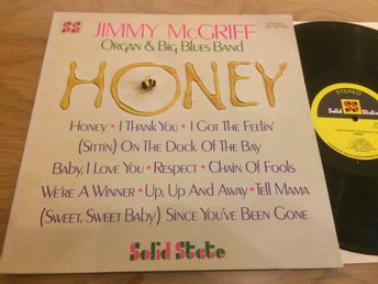 JIMMY McGRIFF honey LP -68 US SOLID STATE SS 18036